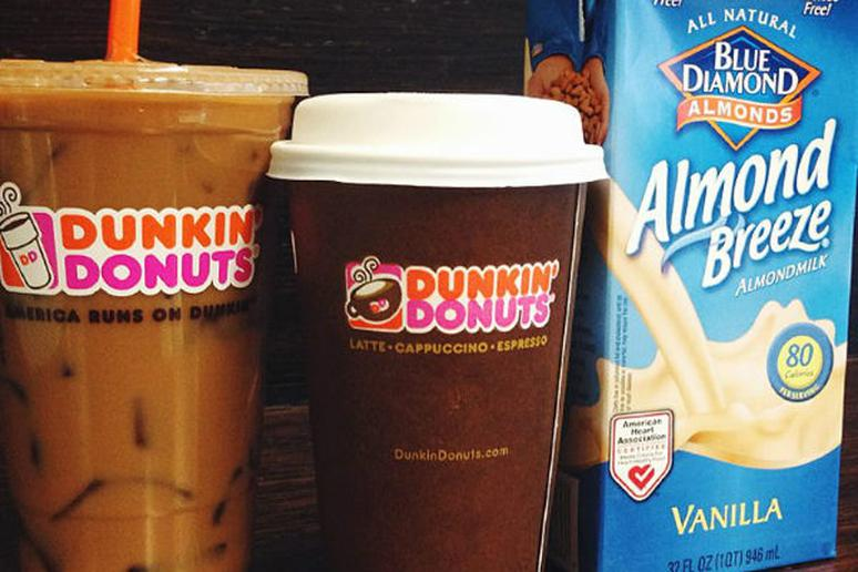 Dunkin' Donuts Woos Healthy Customers with Almond Milk