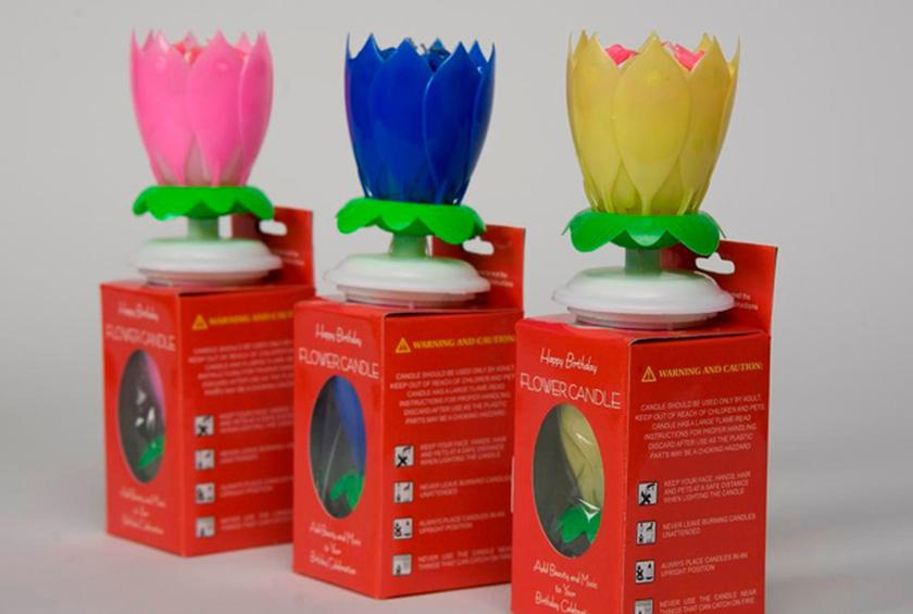 The Amazing Candle That We Wish Wasnt A Flower