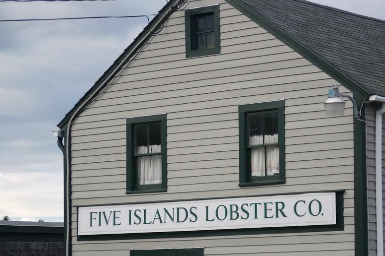 Five Islands Lobster Company, Five Islands, Maine