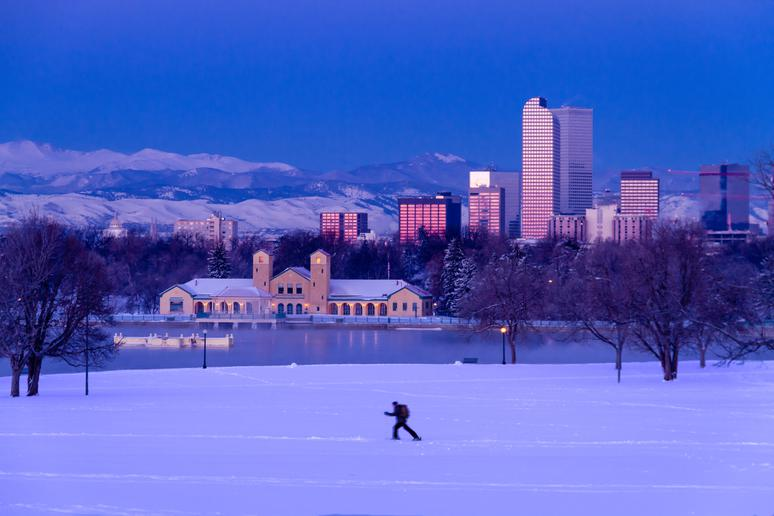No. 17: Denver (Avg. Yearly Snow: 53.5 inches)