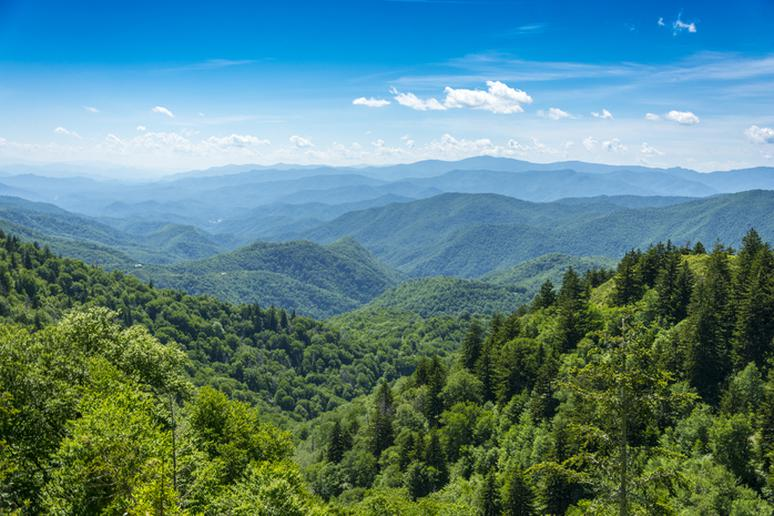 Smoky Mountains, Tennessee and North Carolina