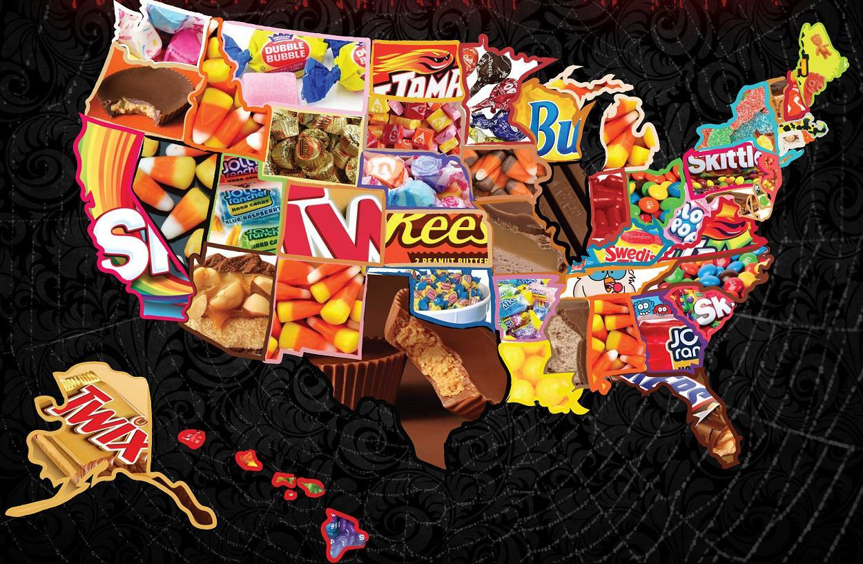 the most popular halloween candy in every state gallery