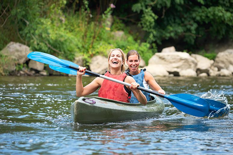 Experience the benefits of kayaking