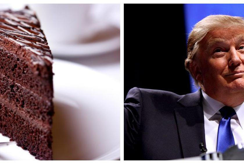 I Was Eating The Most Beautiful Chocolate Cake Trump Recalls