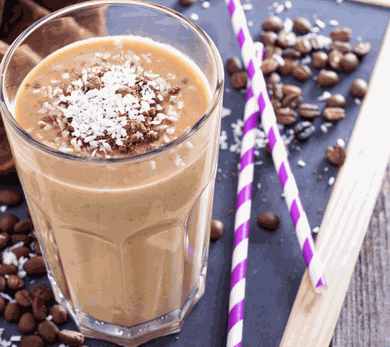 Coffee Coconut Bliss Smoothie