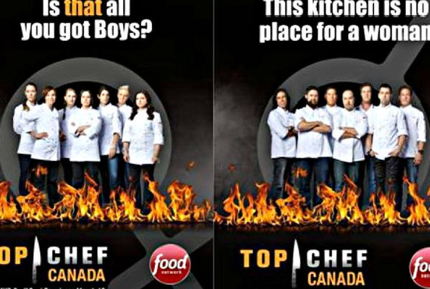 Is Food Network Sexist Top Chef Canada Ads Provoke Anger
