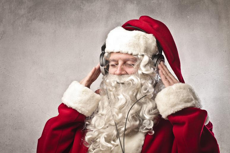 Listening to Holiday Music