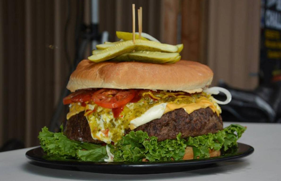 10 Monstrous Burgers Around The World Gallery