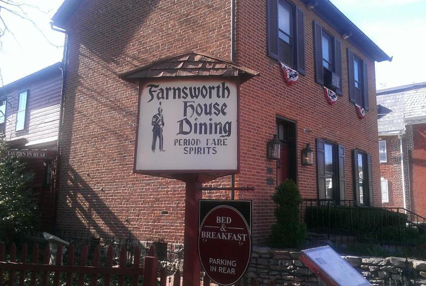 Pennsylvania: The Farnsworth House Inn (Gettsyburg)