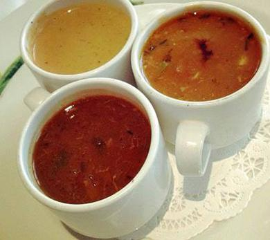 Soup Sampler at Commander's