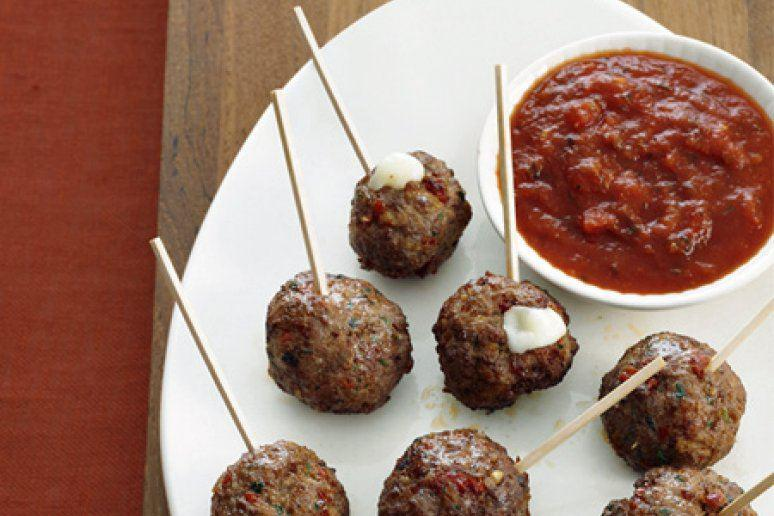 Turkey Meatballs on a Stick