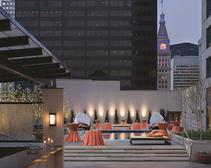 Rooftop pool Denver Four Seasons