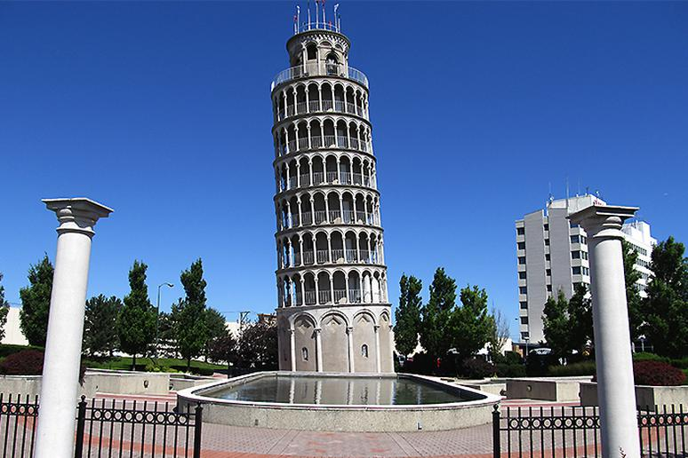 Leaning Tower, Niles, Illinois