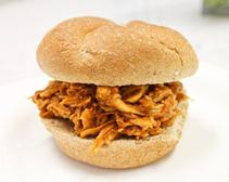 Pulled Barbecue Chicken Sandwich