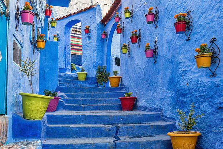 Chefchaouen, Morocco – April and May