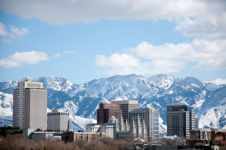 No. 12: Salt Lake City (Avg. Yearly Snow: 56.5 inches)