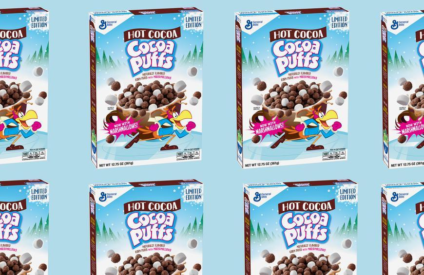 Christmas Flavors.Cocoa Puffs And Lucky Charms New Flavors Are Christmas