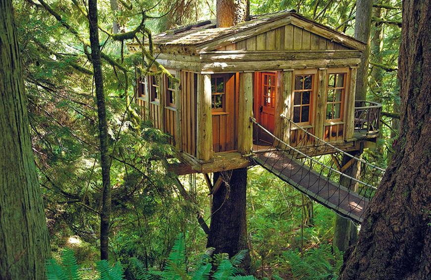 2 Treehouse Point In Issaquah Wa From World S Epic Tree Houses
