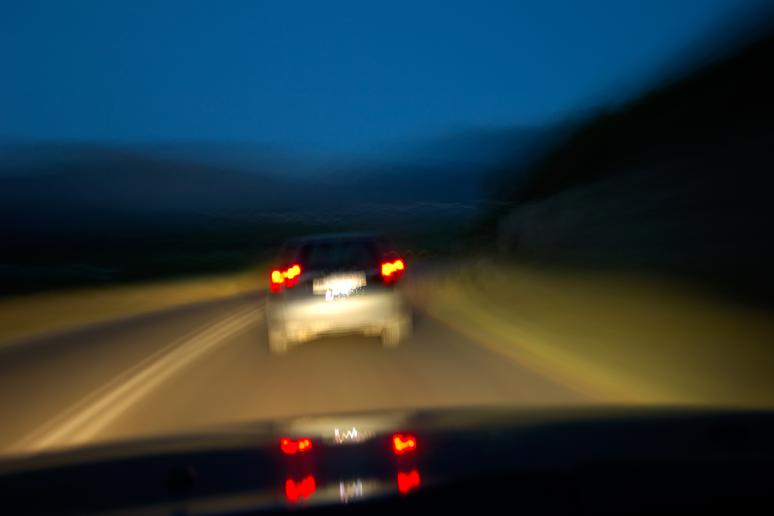 6. Night blindness