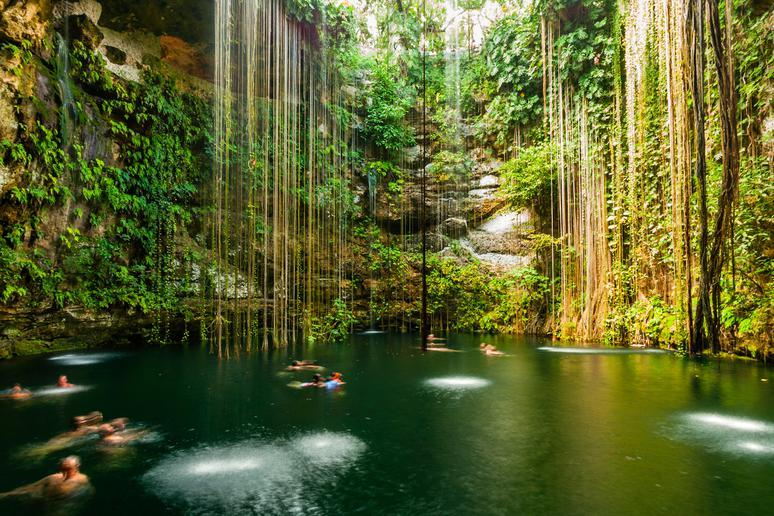 Swim in cenotes in Cancún and the Riviera Maya