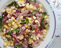 Corn Salad with Radicchio & Red Onion Recipe