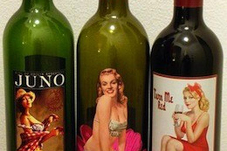 Sexy Wine Labels