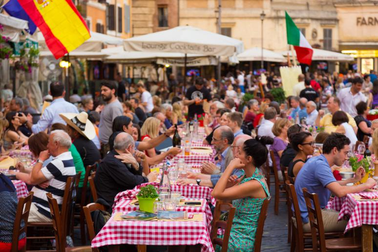 Don't turn down food in Italy