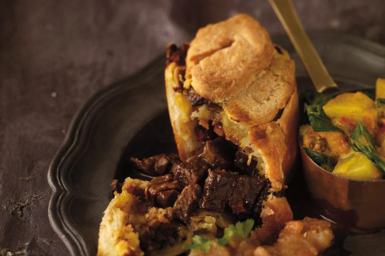 Beef Curry Pie