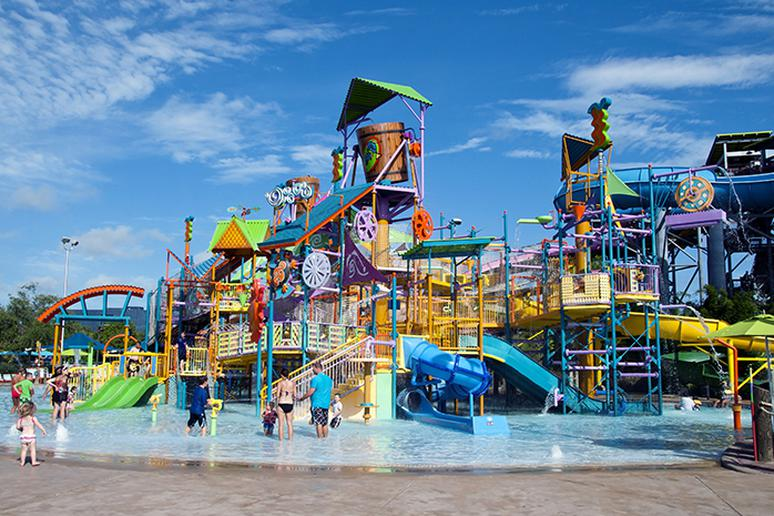 Easy and literally cool: Water parks