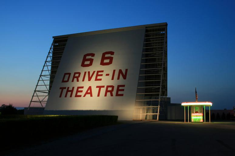 Where to stop: 66 Drive-In Theatre
