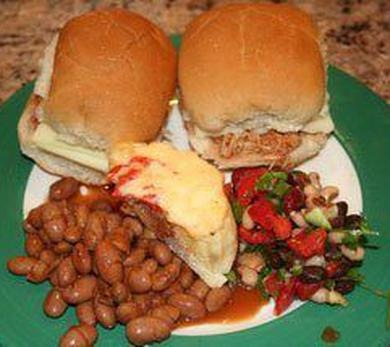 Sliders and beans