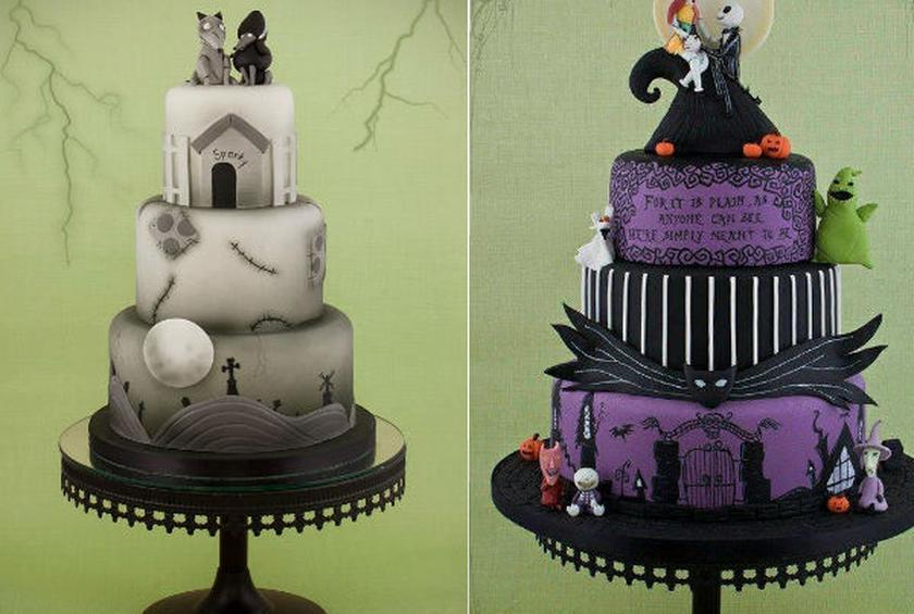 Wedding Cake of the Day: Tim Burton Cakes