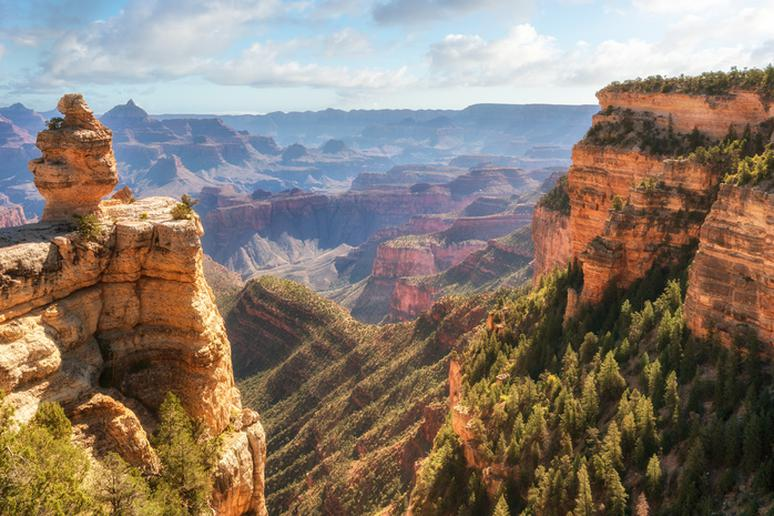 The Grand Canyon National Park, Arizona