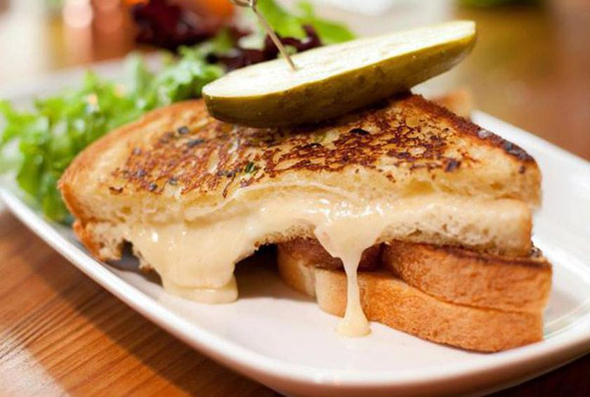 Crazy Grilled Cheese