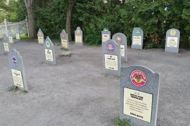 Ben and Jerry's Flavor Graveyard (Waterbury, Vermont)