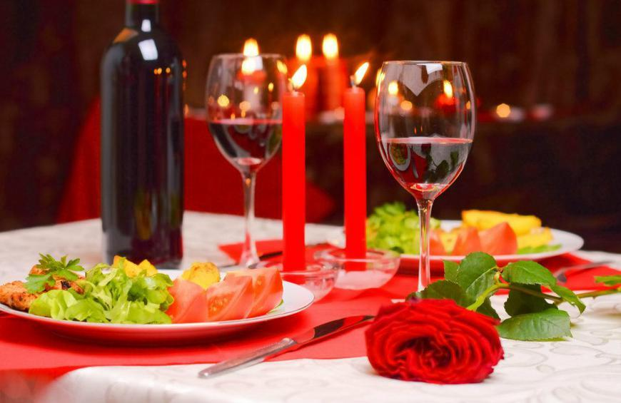 Image result for romantic meals