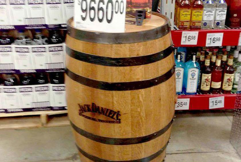 Sam's Club Reportedly Selling Barrels of Jack Daniel's Whiskey