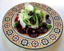 Blood Orange Salad with Shaved Fennel and Olives