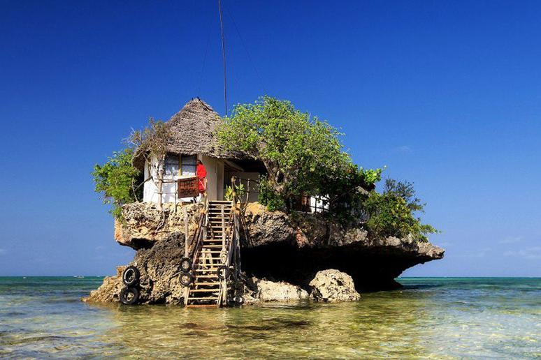 Zanzibar: The Rock Restaurant