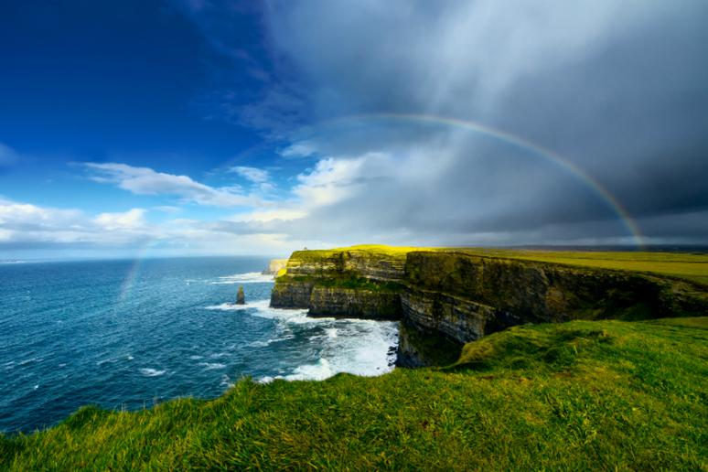 2. The Cliffs of Moher, Ireland