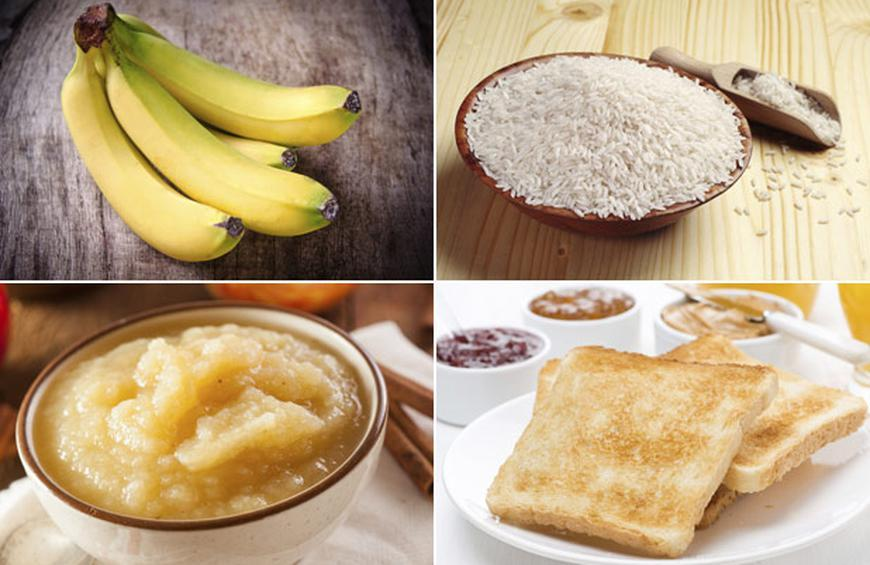 BRAT Diet from 10 Natural Ways to Settle Your Stomach