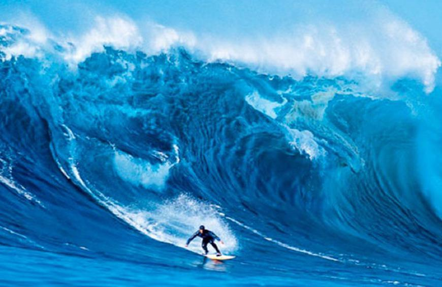 Catching the Biggest Wave - National Geographic Society
