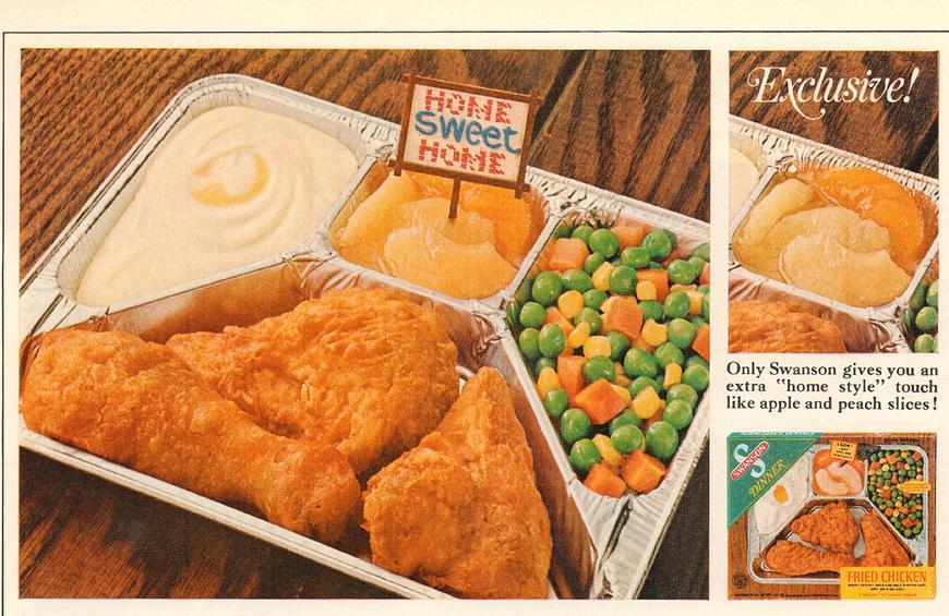 Microwave Tv Dinners Didn T Come Around Until 1986 From 10