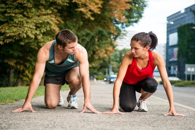 When It Comes to Exercising, Competition Is Better Than Moral Support