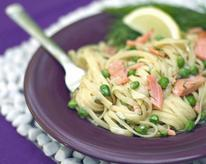 Creamy Smoked Salmon Pasta with Dill