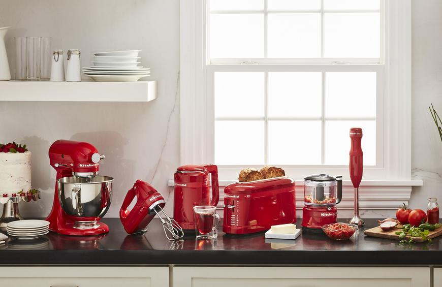 KitchenAid Celebrates 100th Anniversary With \'Passion Red ...