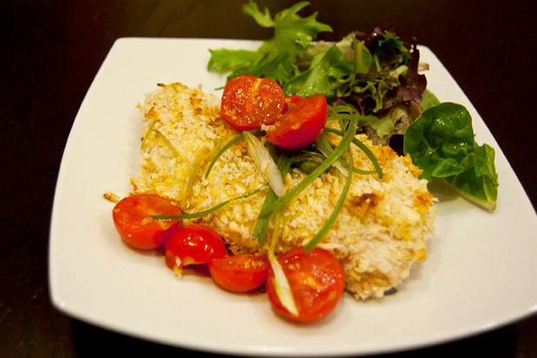 Baked Panko-Crusted Chicken Breast Recipe