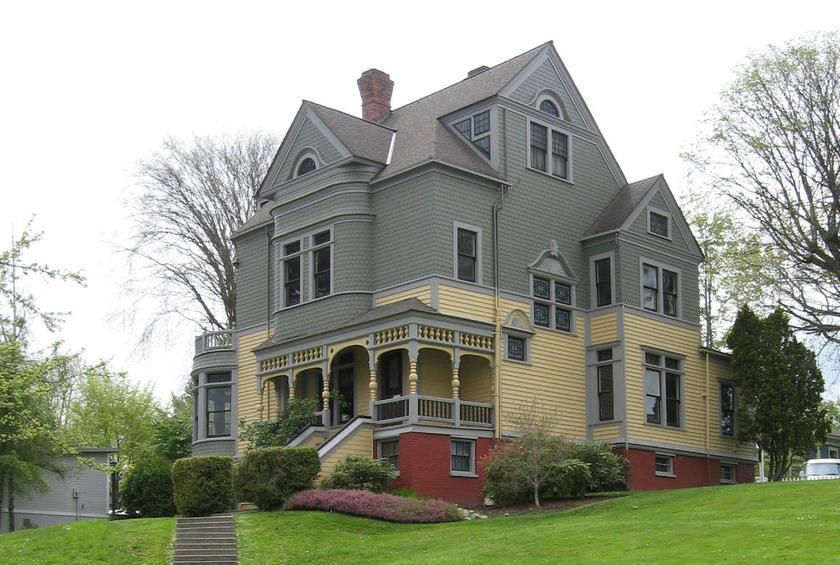 Washington: Walker-Ames House (Port Gamble)