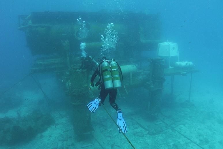 It's Home to the World's Only Underwater Laboratory
