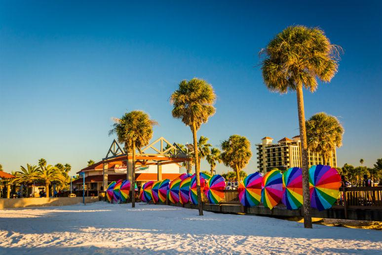 Clearwater Beach in Clearwater, Florida